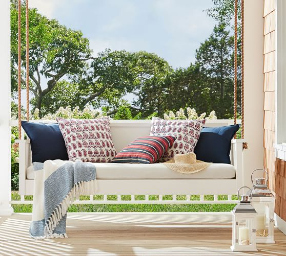 Awning Stripe Throw Indoor Outdoor Pillows Outdoor Pillows Home Decor