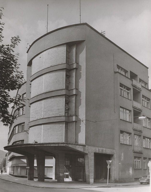 Ferdinand Čapka - Office building in Zilina Slovakia, 1941