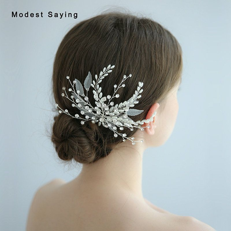 Cheap Bridal Headwear Buy Directly From China Suppliers Fairy Crystal Branch Wedding Headwear Clips 2019 F Wedding Headwear Wedding Hair Clips Bridal Headwear