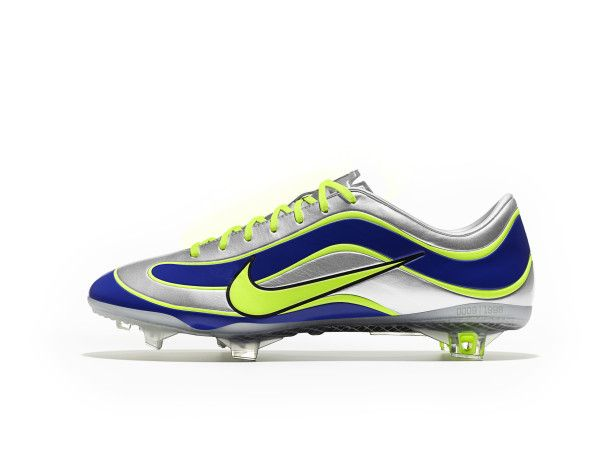 wholesale dealer fd0c6 d62db 2013 Nike Mercurial Vapor XV - Limited Edition 1998 Mercurial - Silver Blue  Yellow