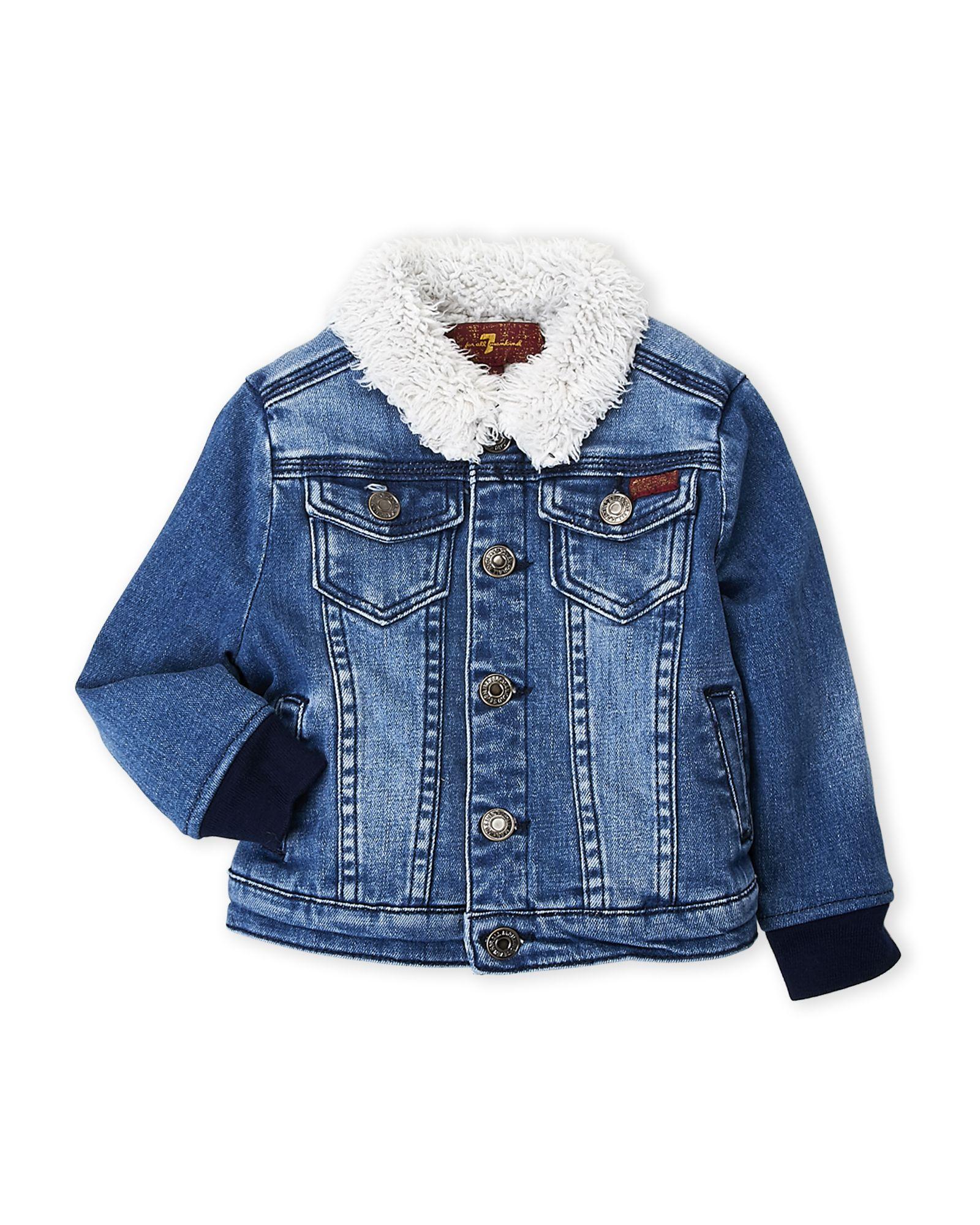 e7f2fa06c3c Toddler Boys) Faux Fur-Lined Denim Jacket   *Apparel & Accessories ...