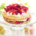 Strawberry Shortcake Recipe with Homemade Whip Cream