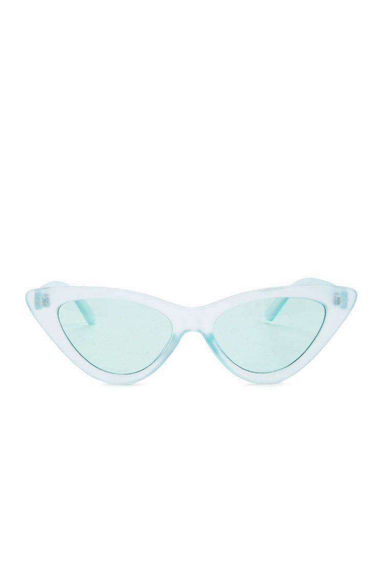 Transparent Cat Eye Sunglasses Forever 21 Sunglasses Trending Sunglasses Glasses Fashion