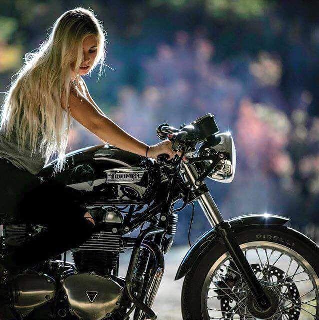 画像  【美女×バイク】海外のライダー系女子がとにかく美しい!! [スナップ][画像集] , NAVER まとめ