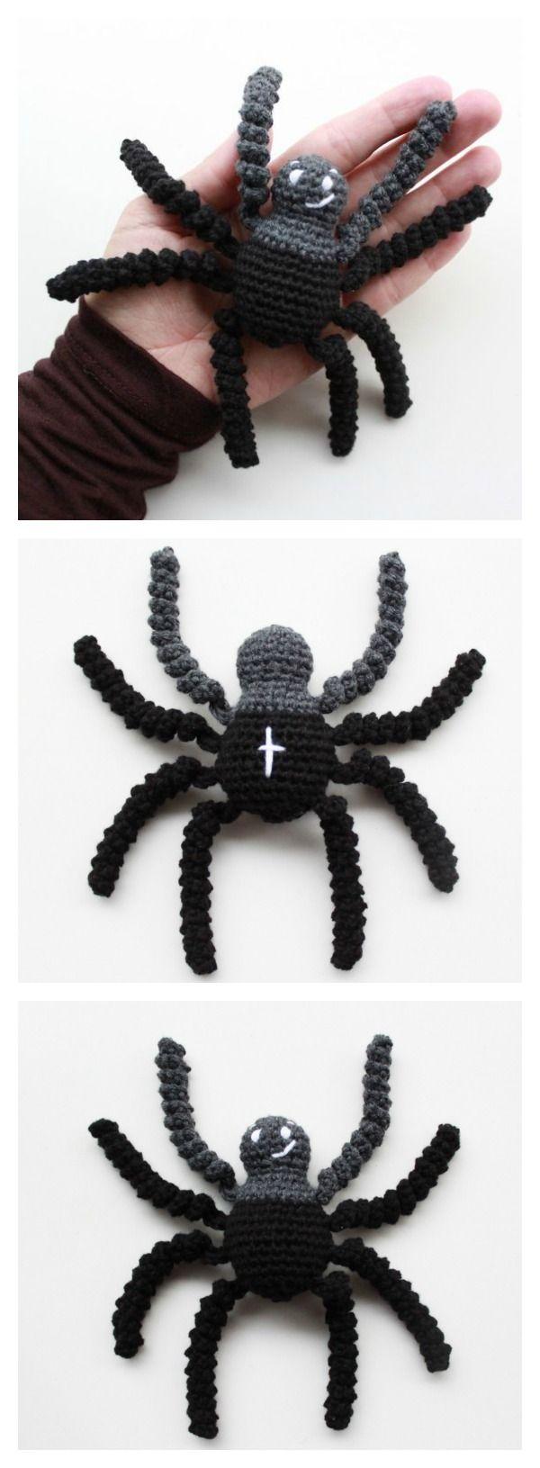 10+ Halloween Decoration Free Crochet Patterns | Halloween häkeln ...