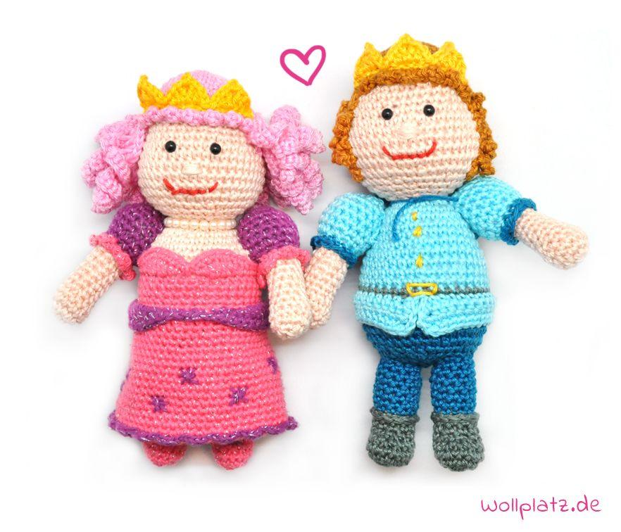 Prinz häkeln: süße Amigurumi! | muñecas | Pinterest | Prinz ...