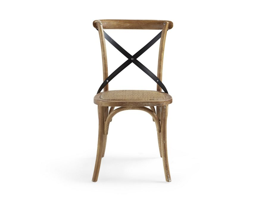 Cadence Dining Chair With Metal Stretchers Arhaus Furniture Dining Chairs Dining Room Chairs Dining