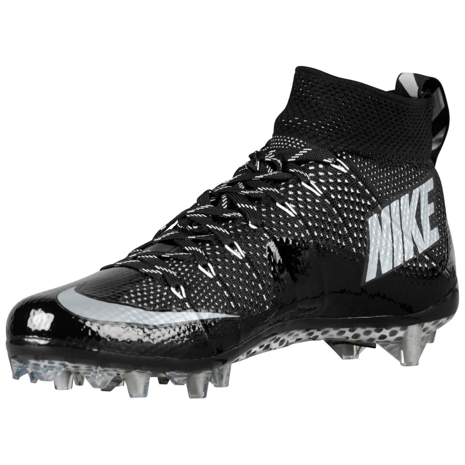 official photos 144e8 dae6b Nike Vapor Untouchable  NEW  Football Cleats Black White  698833-010