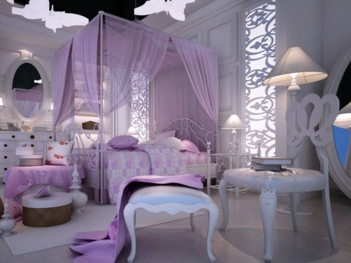 15 Luxurious Bedroom Designs With Purple Color Purple Bedroom Design Master Bedrooms Decor Luxurious Bedrooms