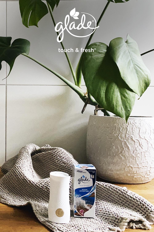 Glade® Touch & Fresh® est le diffuseur de parfum idéal pour votre