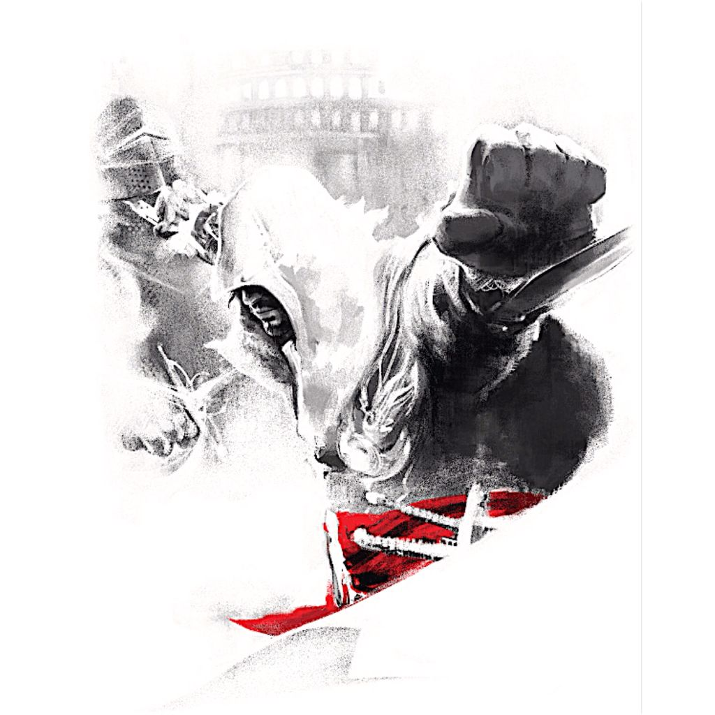 Red Lineage Collection Ezio Assassins Creed Artwork Assassins