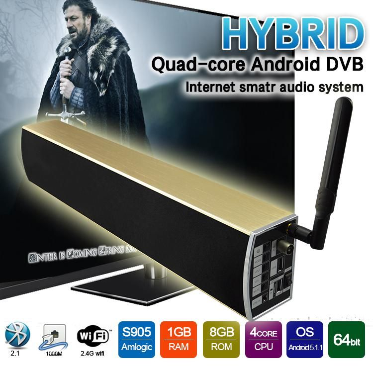 Android Tv Box Dvb T2 Attached S905 1gb 8gb 4k 2k Hdmi2 0