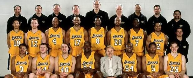 00 01 Roster Los Angeles Lakers Roster La Lakers Lakers Roster
