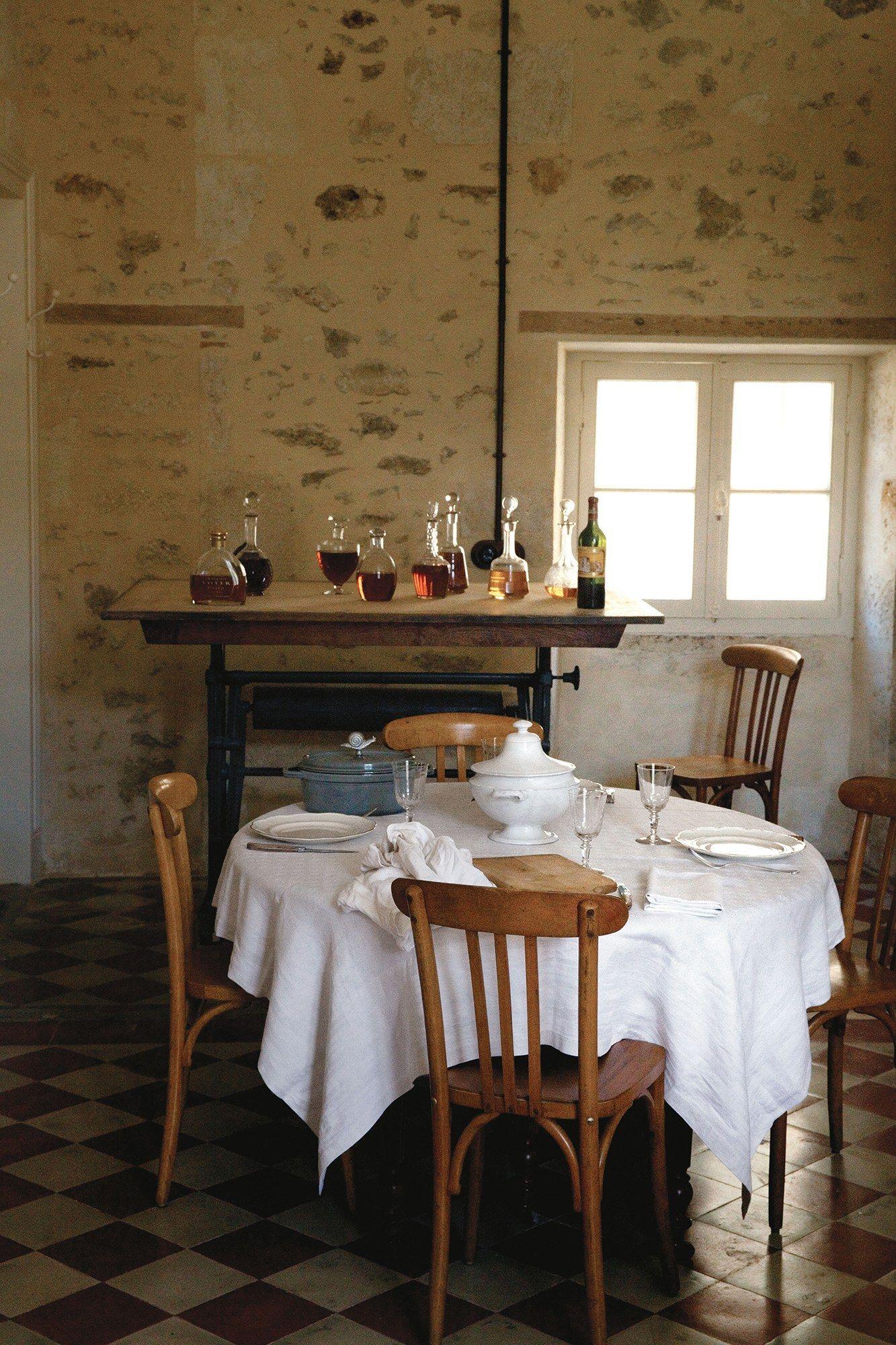 Mimi thorissonus dream kitchen in her french chateau kitchen ideas