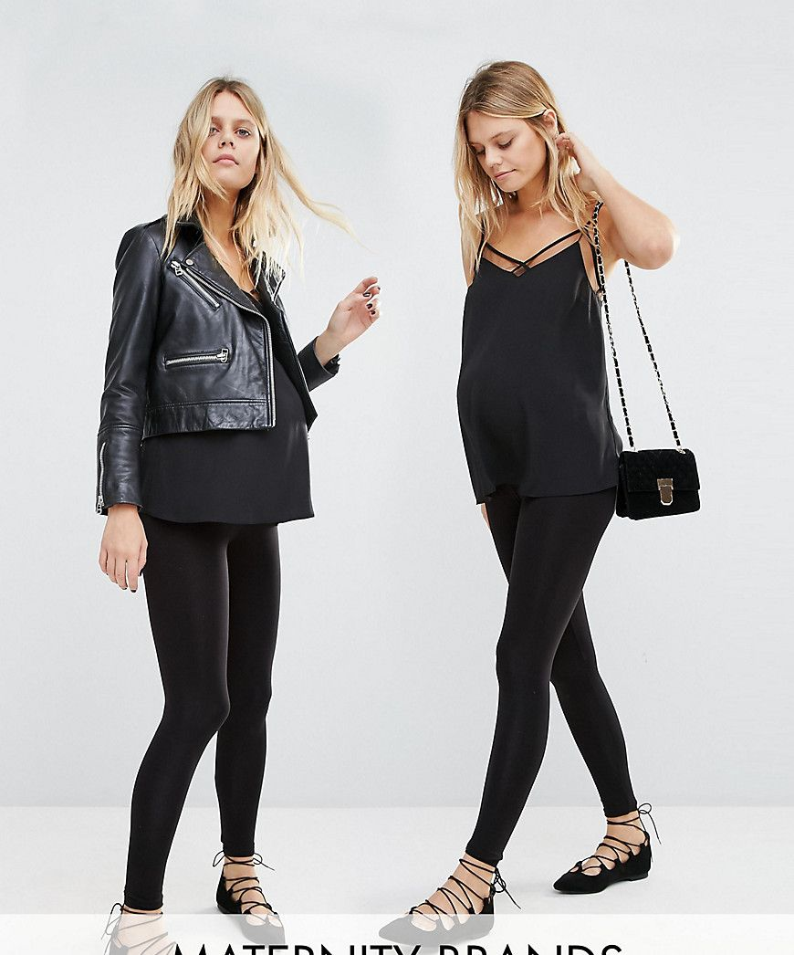 ba5a0f56998b4 New Look Maternity Seam Free Legging 2 Pack - Black