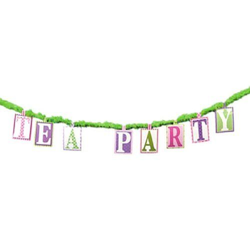 Girly Tea Party Banner (1 pc) by Fun Express, http://www.amazon.com/dp/B005GE08O8/ref=cm_sw_r_pi_dp_LEBsrb1D255D0