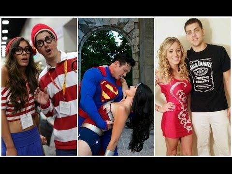 2016 Halloween Couple Costumes You Both Will Love - YouTube shirt - funny couple halloween costumes ideas