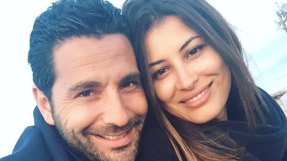 وسام بريدي وزوجته ريم السعيدي يكشفان لأول مرة عن وجه ابنتهما آيا صوفيا صورة
