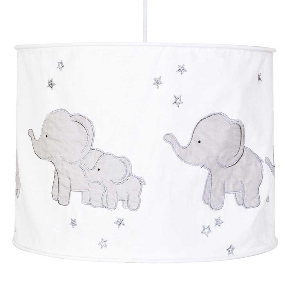 Grey Elephant Lampshade Jojo Maman Bebe