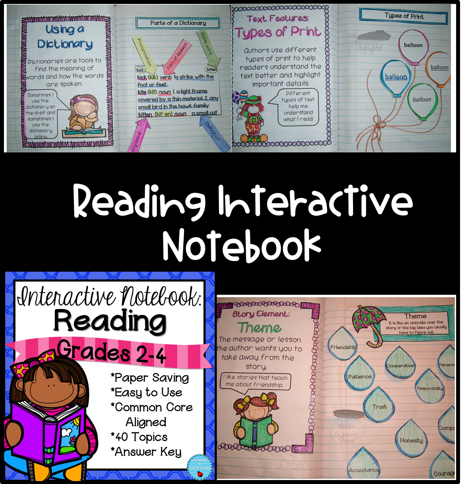 Reading Interactive Notebook