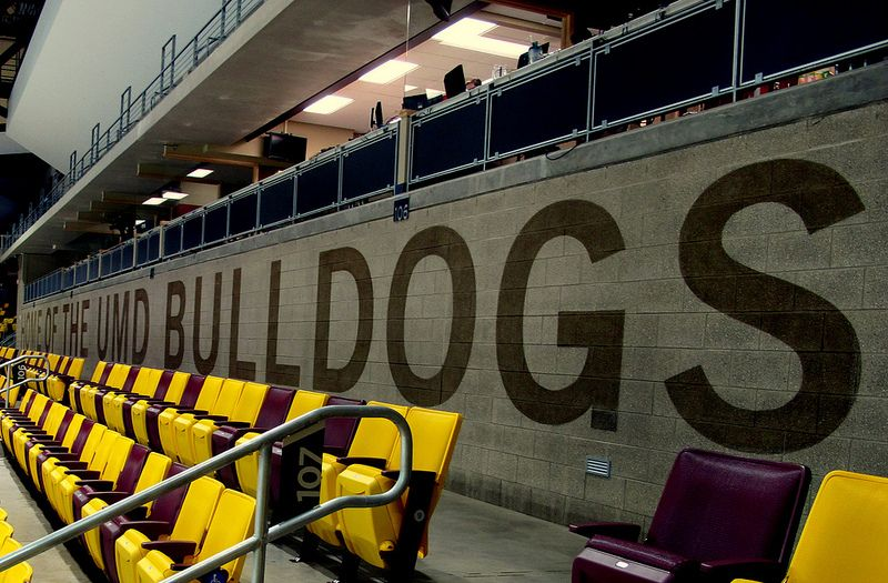 A General View Inside The Amsoil Arena In Duluth Minn Which