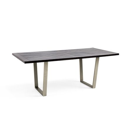Nobelle 60 Dining Table With Hardyn Base In Antique Pewter