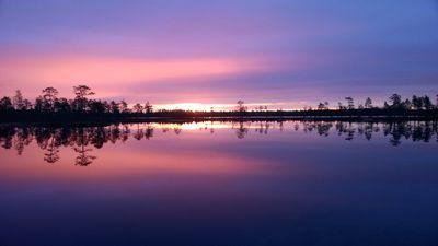 Morning sunrise in Posio, Finland