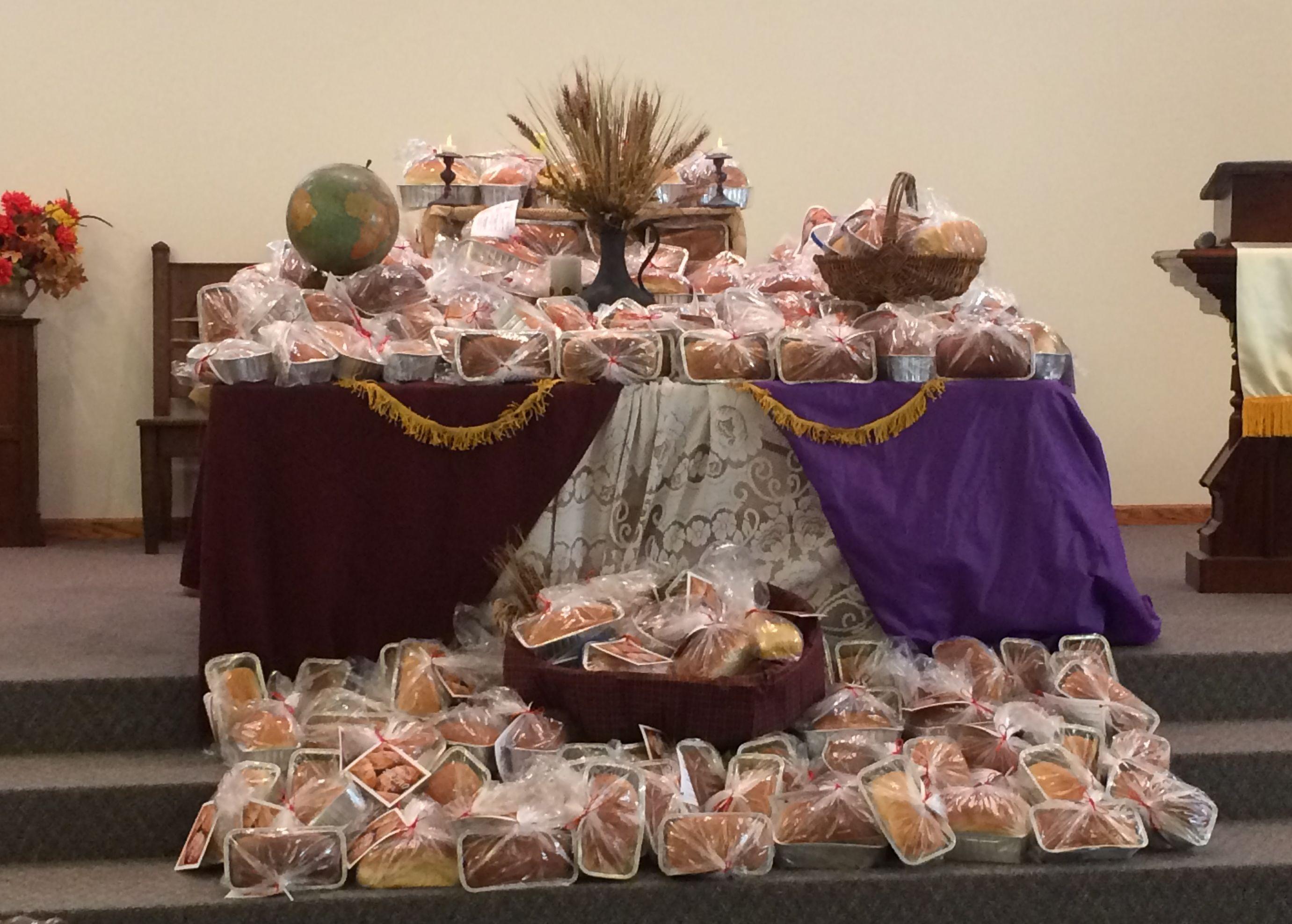 Celebrating World Communion Sunday With The Bread Of Life