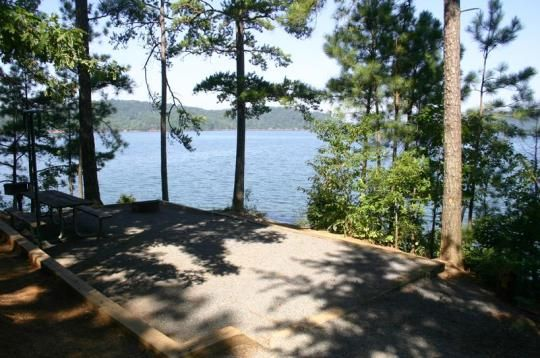 Woodring Branch Campground Is Located On Carters Lake In The North
