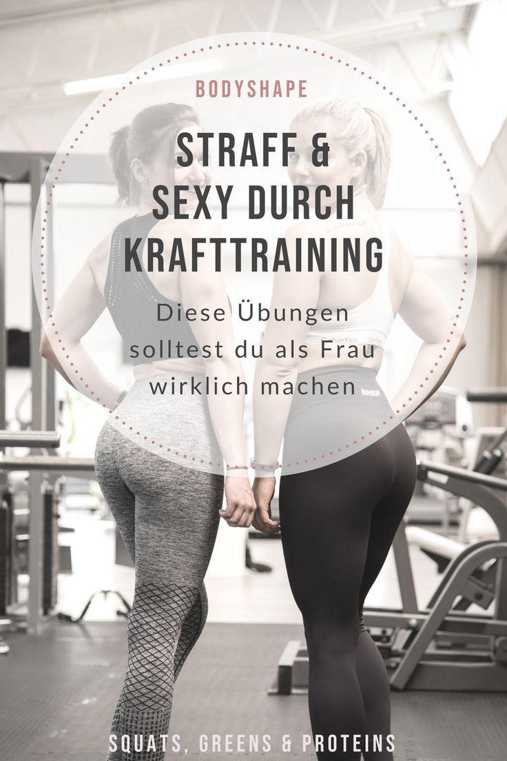 ganzkörpertraining Die besten Kraftübungen für Frauen im Fitnessstudio - so kommst du mit Kraftt