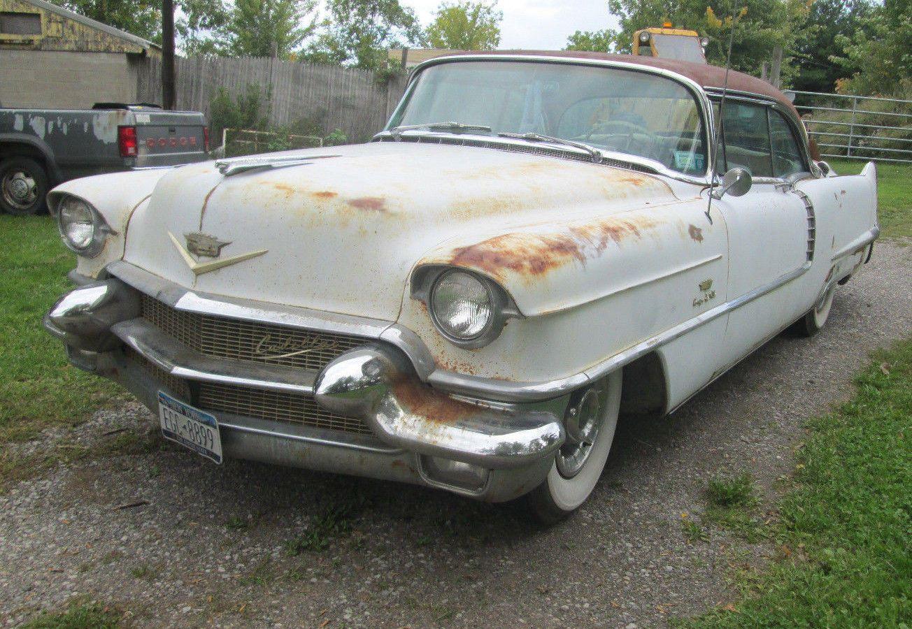 1956 Cadillac DeVille   Cadillac, Motor car and Cars