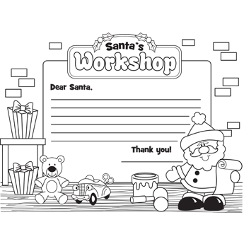 Letter To SantaS Workshop  Ideas For The House