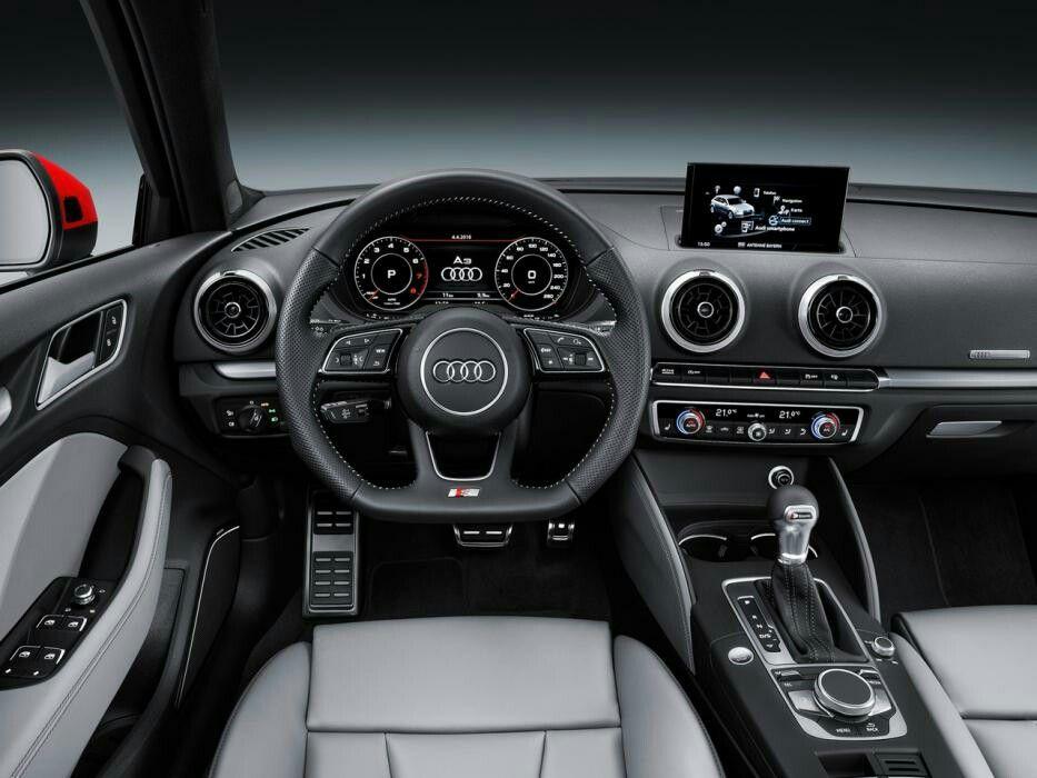 Audi A3 Sportback 2017 Interior Audi A3 Sportback Audi A3 Sedan Audi A3