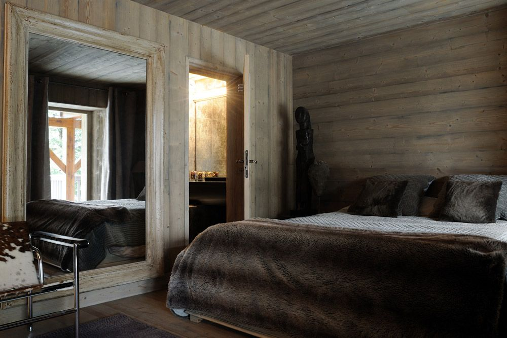 Chambre chalet | Mountain Inspiration | Pinterest | Chalet ...