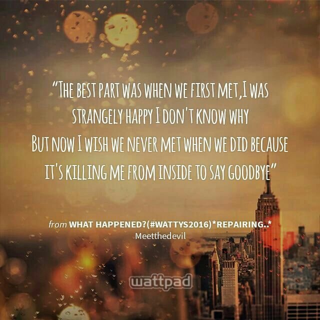 I like this individually very much! Wattpad quotes