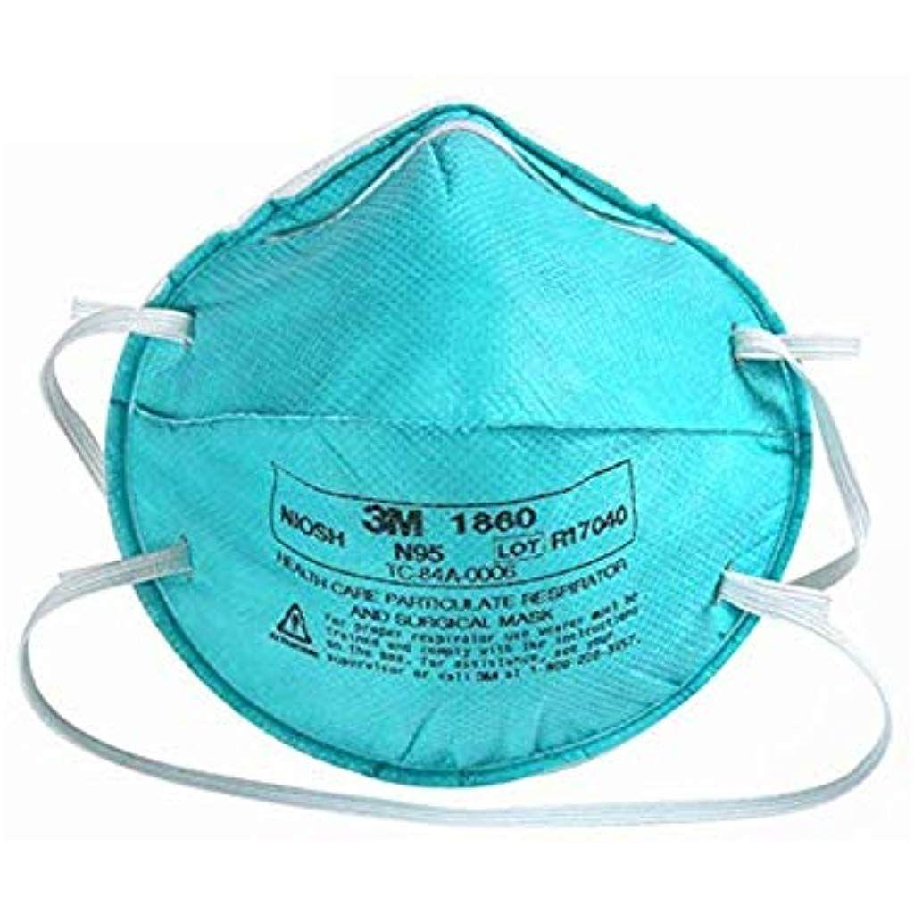 Muyziy 5 Stuck 3m 1860 N95 Partikel Atemschutzmaske Medizinische