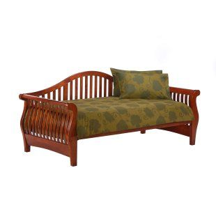 brown day bed