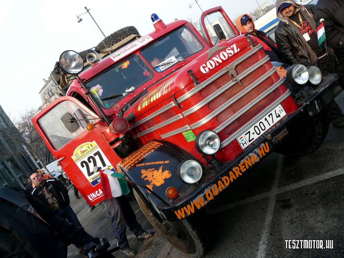Budapest Bamako Rally 2009 Monster Trucks Budapest Vehicles