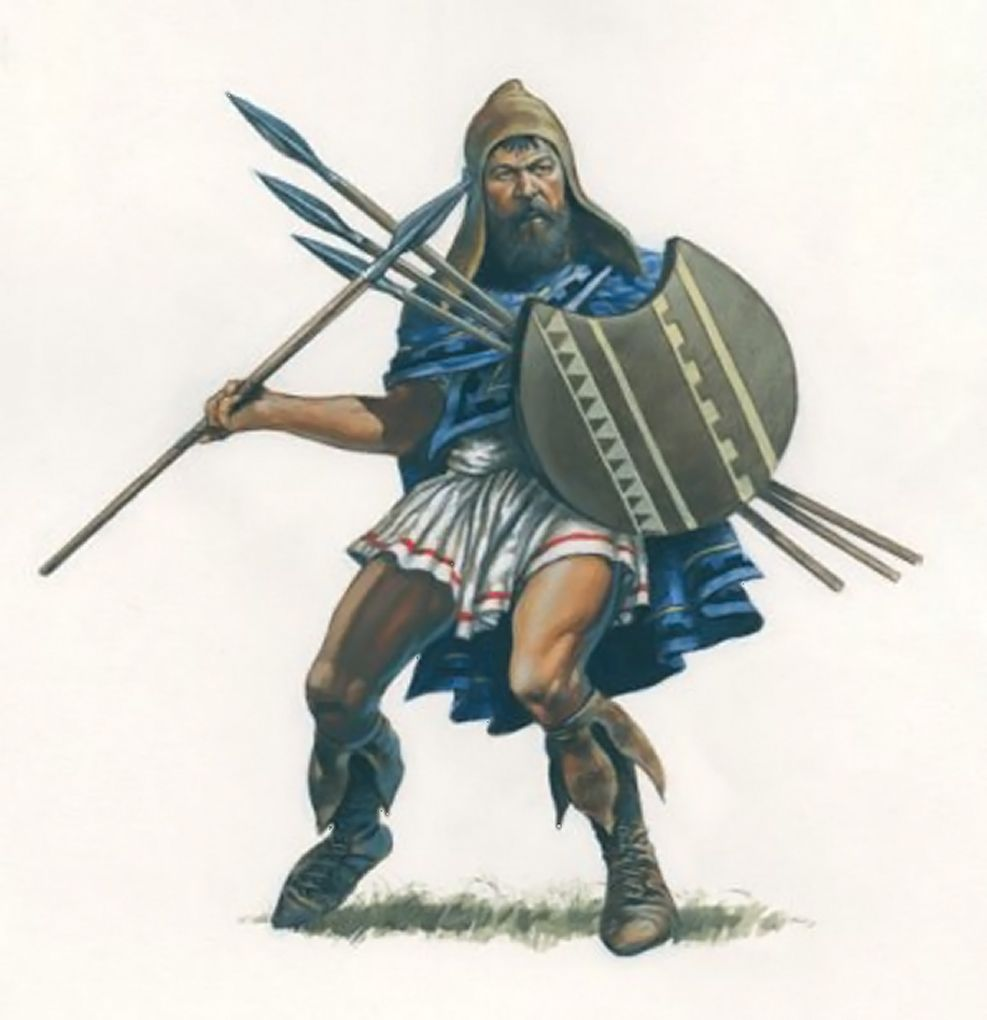 Warriors Of The Dawn Greek Subs: Thracian Peltast