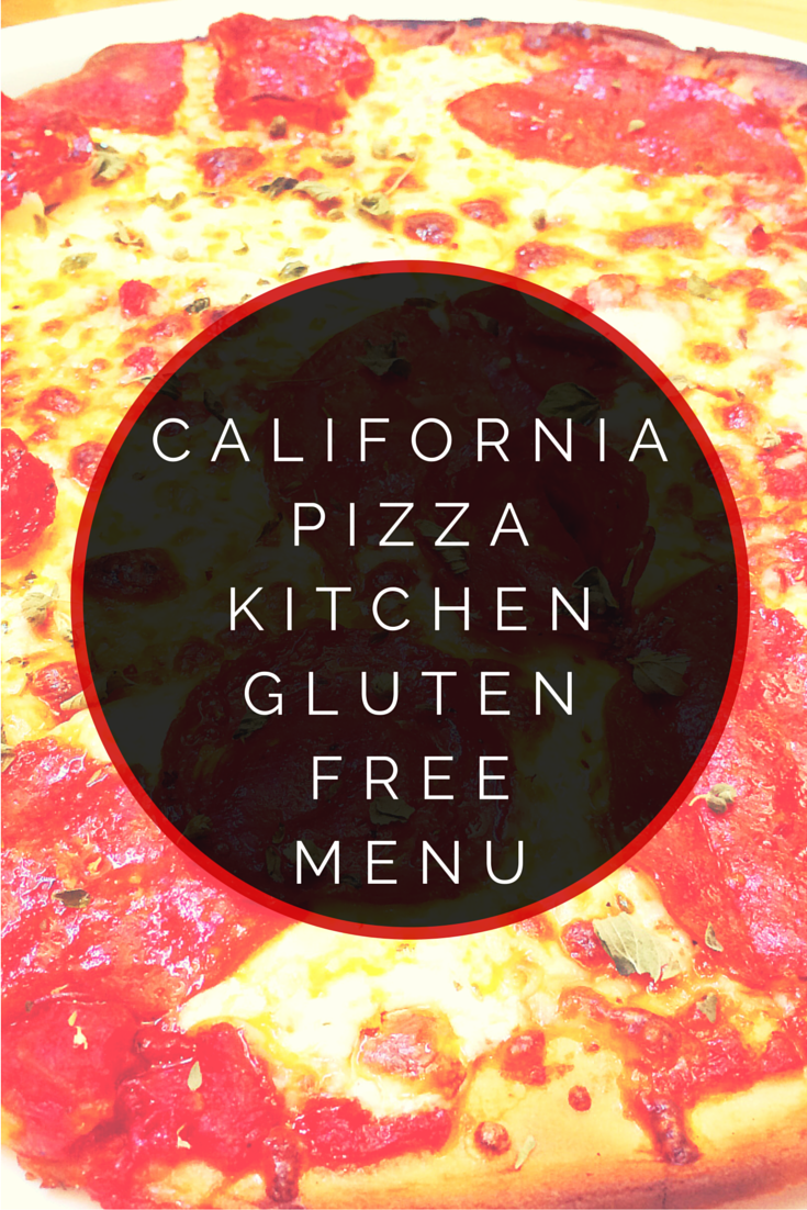 California Pizza Kitchen Gluten Free Pizza Allergy