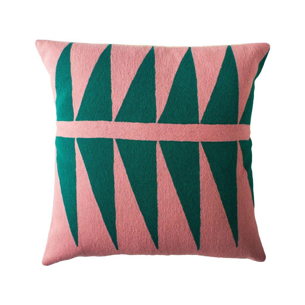 Leah singh palm springs emerald pillow improve pinterest palm