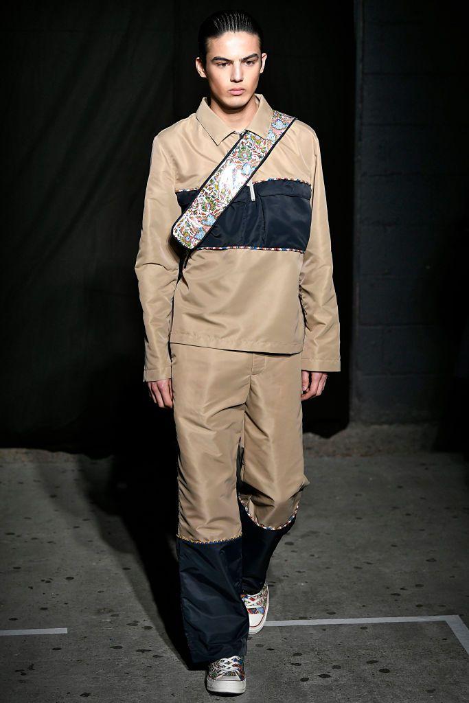 London Fashion Week September 2020.A Model Walks The Runway At The Paria Farzaneh Fall Winter