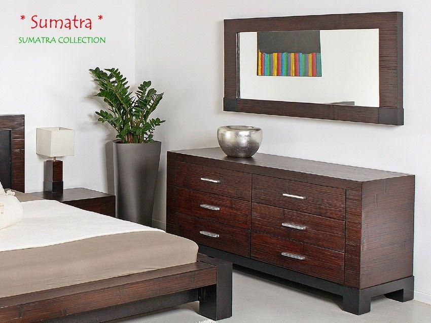 Bambus Spiegel SUMATRA Bambusmöbel für Dein Schlafzimmer Pinterest - spiegel f r schlafzimmer