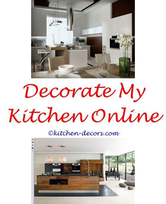 #pineapplekitchendecor Thrifty Chic Decor Basement Kitchen   Kutchina  Kitchen Decoration.#fatchefkitchendecor Country Western