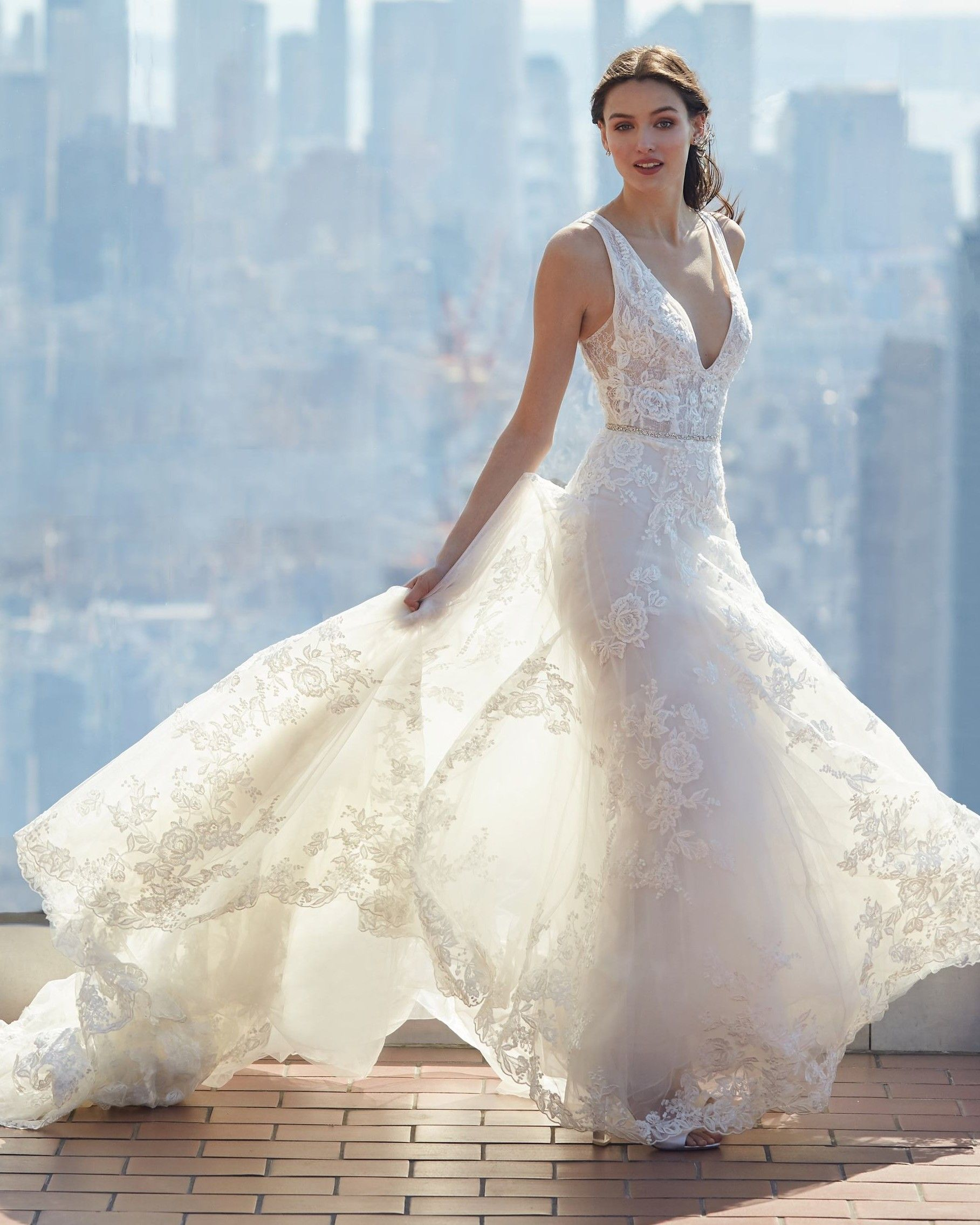 Bliss By Monique Lhuillier Spring 2020 Wedding Dress Collection