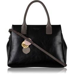 Radley London Portland Place Medium Grab Bag Black