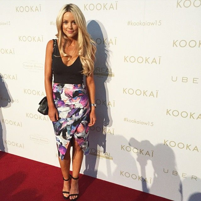 babb56dc9f The Orchid Skirt has arrived! Worn by the beautiful  cestvogue xx  kookai