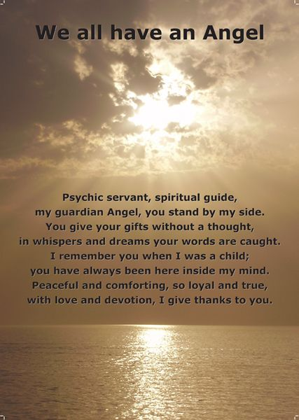 We all have Angel words | Angel prayers, Angel quotes, My ...