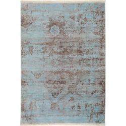 Photo of benuta carpet Safira blue 100×156 cm – vintage carpet in used look benuta