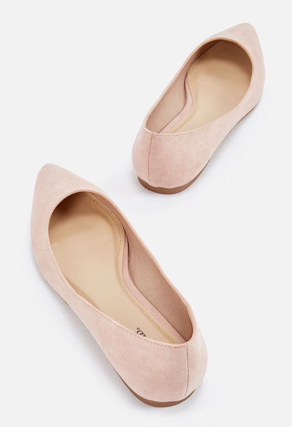 91e9b192e Keep Cool Ballet Flat in Blush - Get great deals at JustFab   My ...